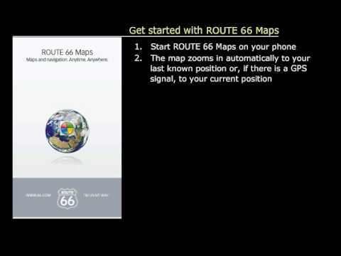 1. ROUTE 66 Maps - Get started
