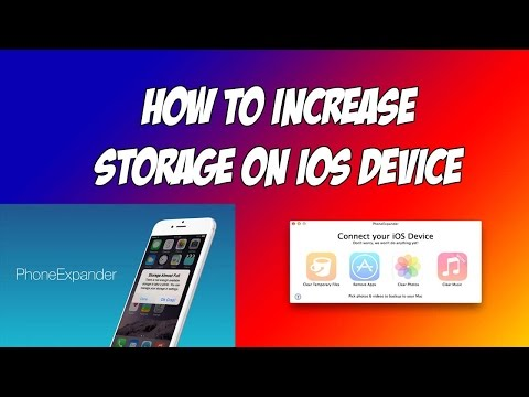 How to increase iPhone/iPad Storage