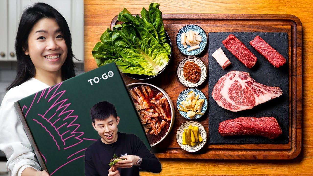 I Tried $249 Korean BBQ Takeout