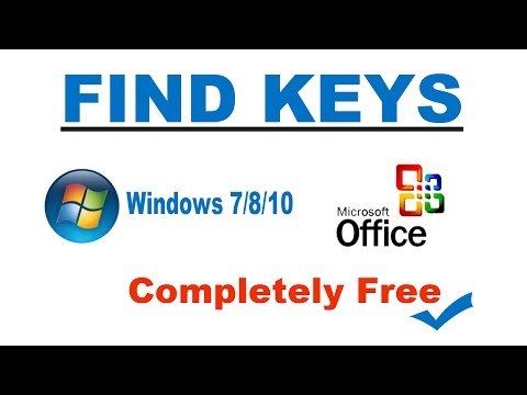 How to get your product key for windows 7/8/10 for free[Find Lost product key for windows 7/8/10]