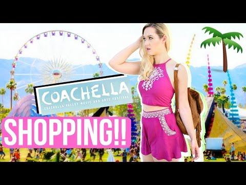 SHOPPING FOR COACHELLA OUTFITS!!!! AlishaMarieVlogs