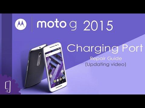 Motorola Moto G 2015 Charging Port Repair Guide (Updating video)