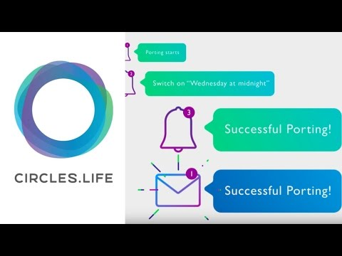 How to Keep Your Number (Porting in a Snap)   Circles.Life   Help Videos