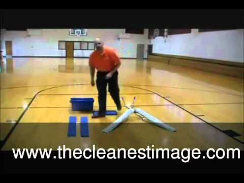 Slippery Gym Floor Cleaning
