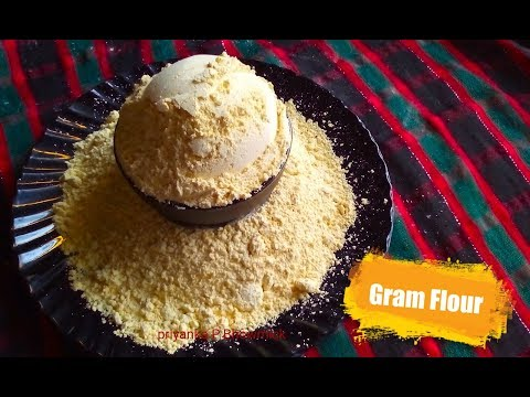 How to make besan or Gram flour at home / ghar mein besan kaise banaye