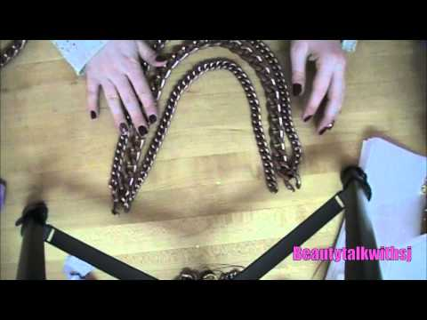 DIY: create your own gorgeous chain necklace