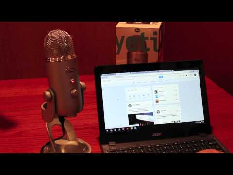 Does A Blue Yeti Microphone Work On A Chromebook?
