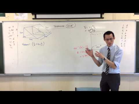 Volume & Surface Area of a Triangular Prism