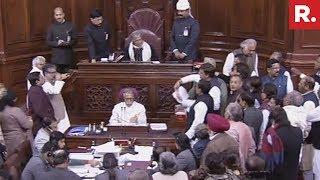 Opposition Protests Over Cbi Raids Against Akhilesh Yadav, Raise Slogans In The