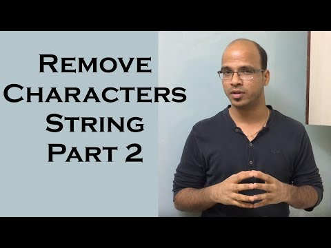Remove Characters from Number String in Java  | use of StringBuffer in Java Part 2