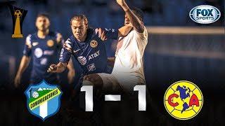 Comunicaciones - Club América [1-1]   GOLES   Octavos de final (Ida)   CONCACAF Liga de Campeones