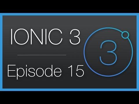 Ionic 3 • Création d'un lecteur de vidéos YouTube ! • Épisode 15