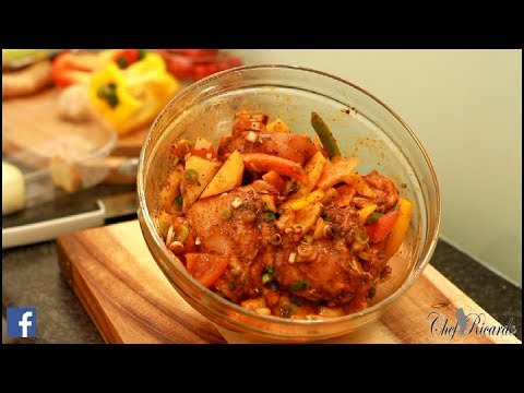 Brown Stew Chicken Part 1 Best In The World   Recipes By Chef Ricardo