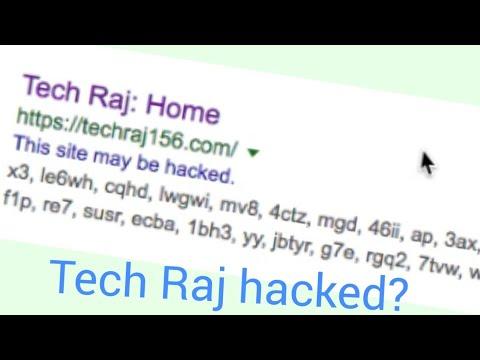 MY WEBSITE GOT HACKED! [SPAM URL INJECTION]