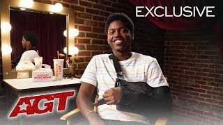 Dunkin' Presents AGT Golden Buzzer Reactions: Joseph Allen - America's Got Talent 2019