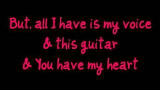 Jamie Grace Hold Me (feat. tobyMac) Lyrics