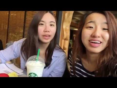 Michelle & Iris | Birthday Day Cake Frappuccino? [from Starbucks ]