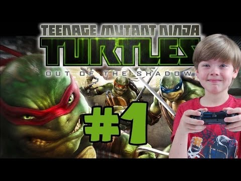 Playing Teenage Mutant Ninja Turtles: Out of the Shadows (Part 1) (KID GAMING)