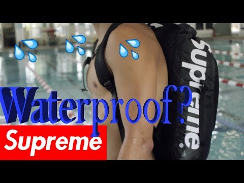 SWIMMING WITH SUPREME?!?