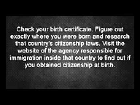 How to   Figure Out My Current Citizenship