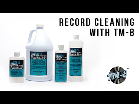 Record Cleaning 101 - Super Record Cleaning Fluid TM-8 Tutorial by Groovy Hi-Fi Solutions Inc.
