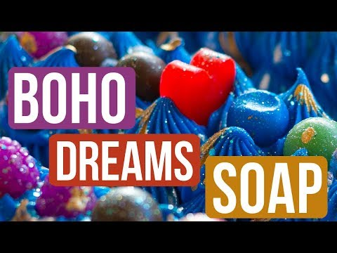 USING 10 DIFFERENT FRAGRANCE OILS!? = Boho Dreams Soap | Royalty Soaps