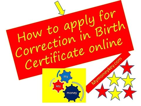 How to apply Online birth certificate in india