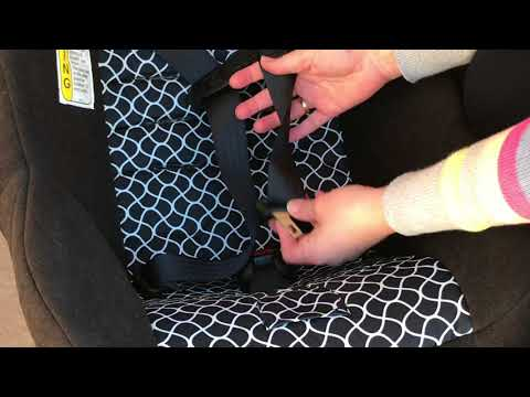 The EASIEST WAY to Fix Twisted Car Seat Straps