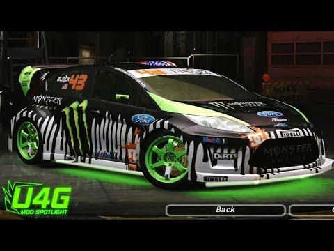 Ford Fiesta (Gymkhana 3) Need For Speed Underground 2 Mod Spotlight U4G