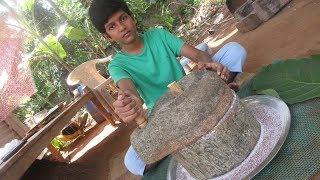 Village food factory / Ragi Kali - Keerai / Prepared by my Daddy in my village / food factory