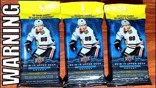 Opening (3) 18/19 Upper Deck Series 2 Hockey Fat Packs