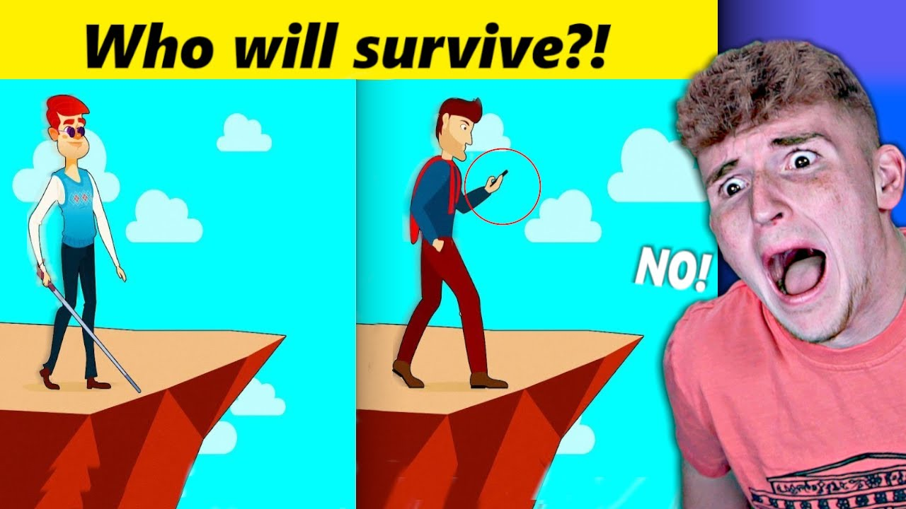 MESSED UP Mystery Riddles That Will Save Your Life Someday..