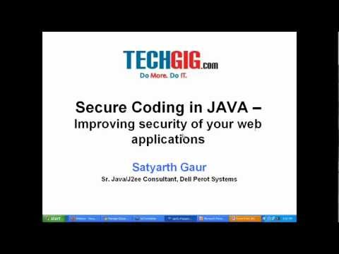 Introduction - Secure Coding in JAVA - Improve security in your web applications