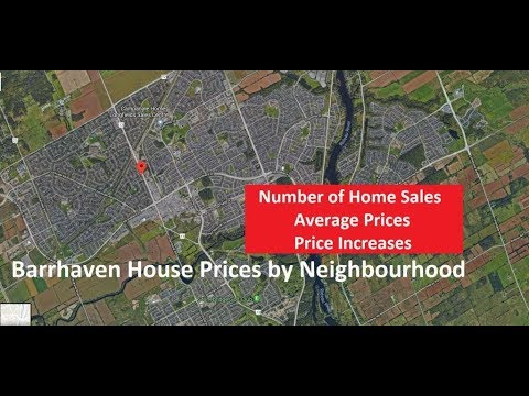 House Prices in Barrhaven by Neighbourhood 2017