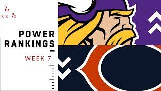 NFL Week 7 Power Rankings!