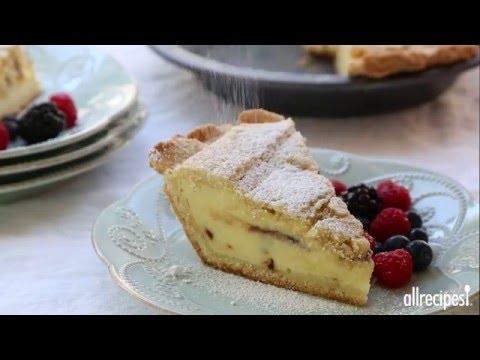 How to Make Ricotta Pie | Pie Recipes | Allrecipes.com