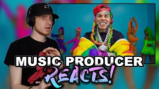 Music Producer Reacts to 6IX9INE- GOOBA