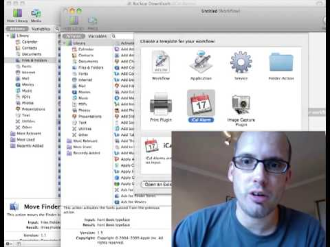 Keep your download folder clean with automator