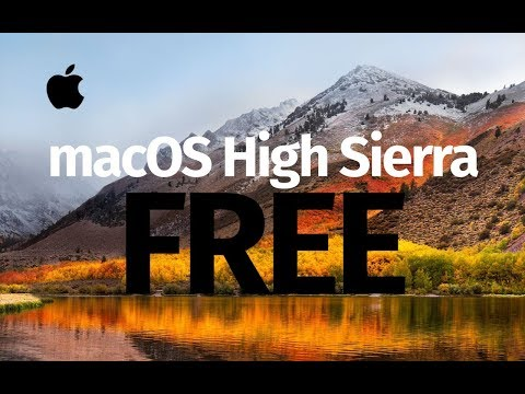 Download / Install macOS High Sierra FREE for macbook, iMac, Mac mini, Mac Pro