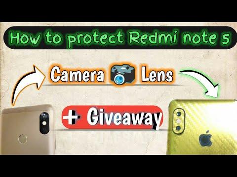 Camera lense Guard | Redmi Note 5 Pro camera lense protector Giveaway