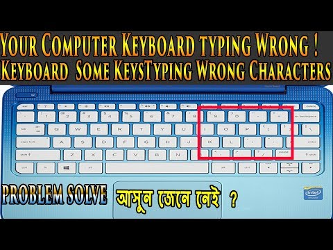 [ Keyboard typing Wrong ] Keyboard  Some KeysTyping Wrong Characters problem solve