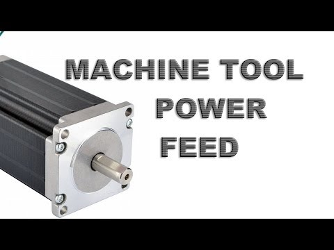 Add Power Feed \ CNC to your machine tool: Introduction Pt. 1