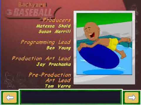 Backyard Baseball 2003 End Credits part 1