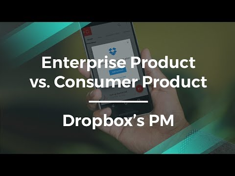 How Different is Enterprise Management by Dropbox Product Manager