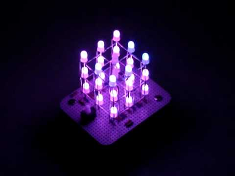 3x3x3 RGB Led Cube