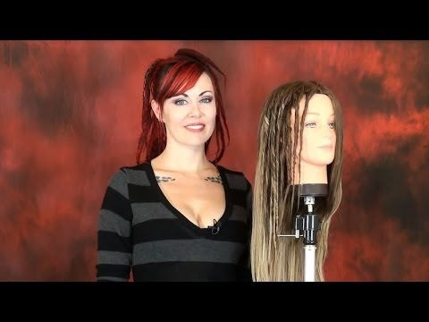 How to Create Temporary Hairspray Twist Dreads - DoctoredLocks.com