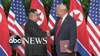 Trump calls Kim Jong Un