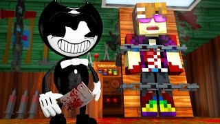 BENDY AND THE INK MACHINE MURDER!   Minecraft Murder Mystery