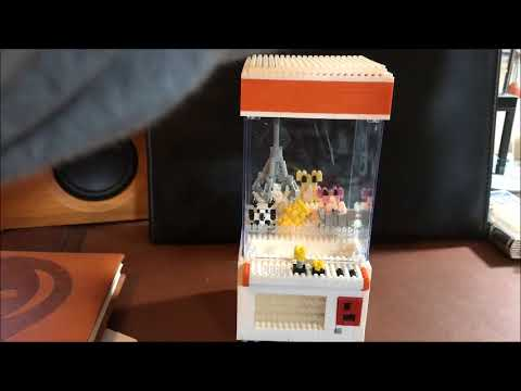 Lego Nano Block Crane Claw Machine