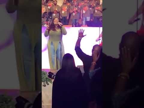 Tasha Cobbs Album Release Wonderful Grace live